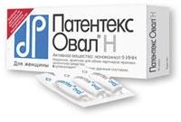 Патентекс-Овал инструкция