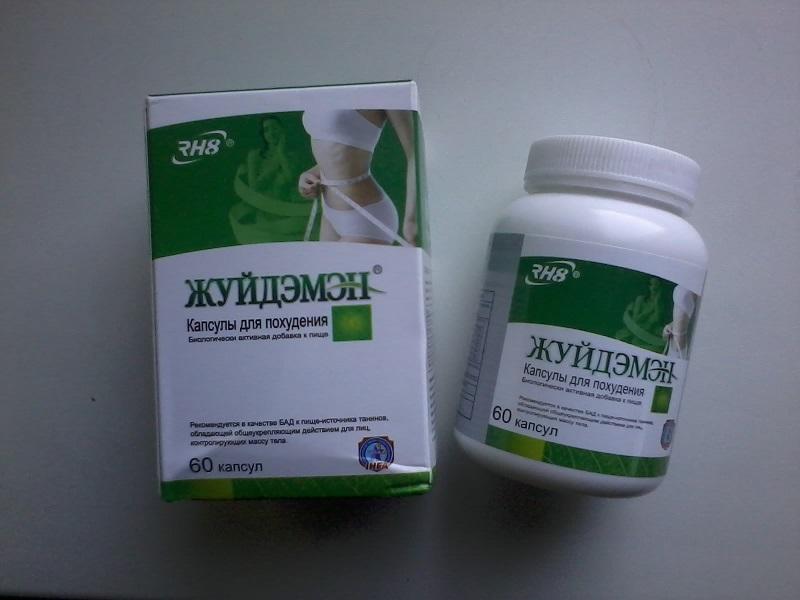 Таблетки жуйдэмэн для похудения