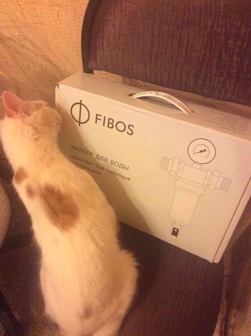 Фибос фильтр для воды - Свои задачи по поводу очистки воды выполняет.