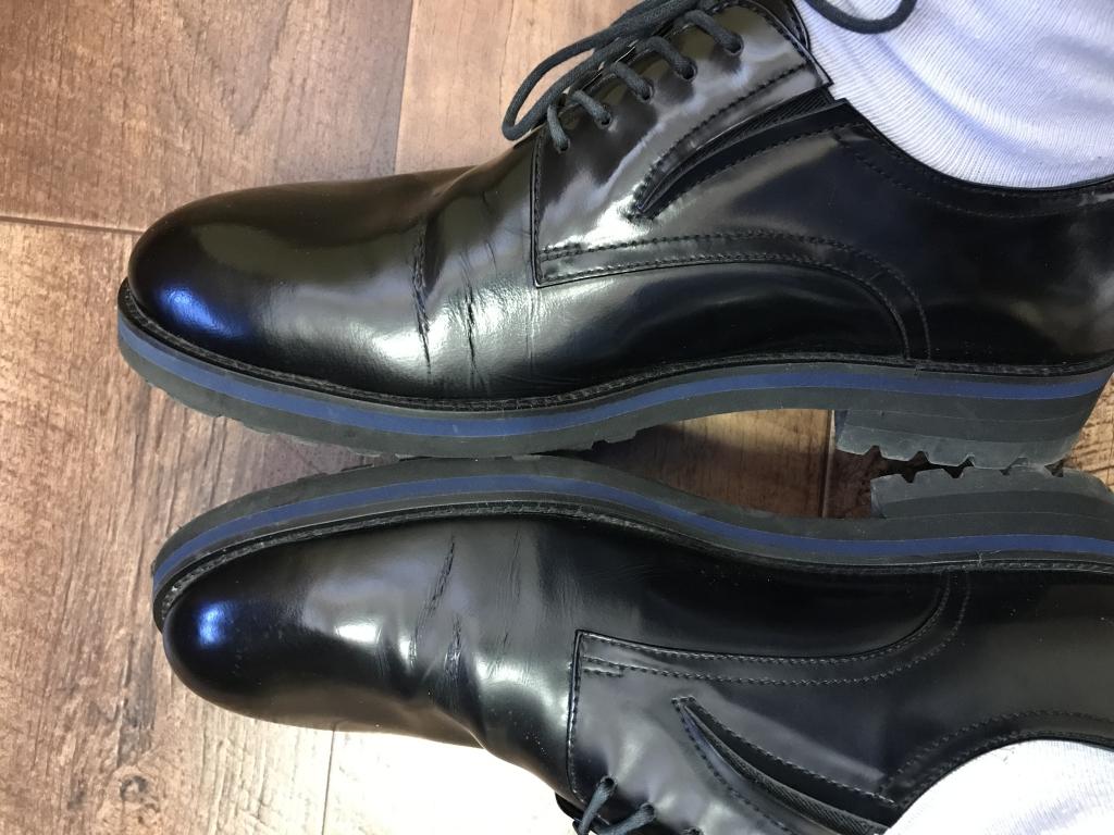 CARLO PAZOLINI - туфли развалились