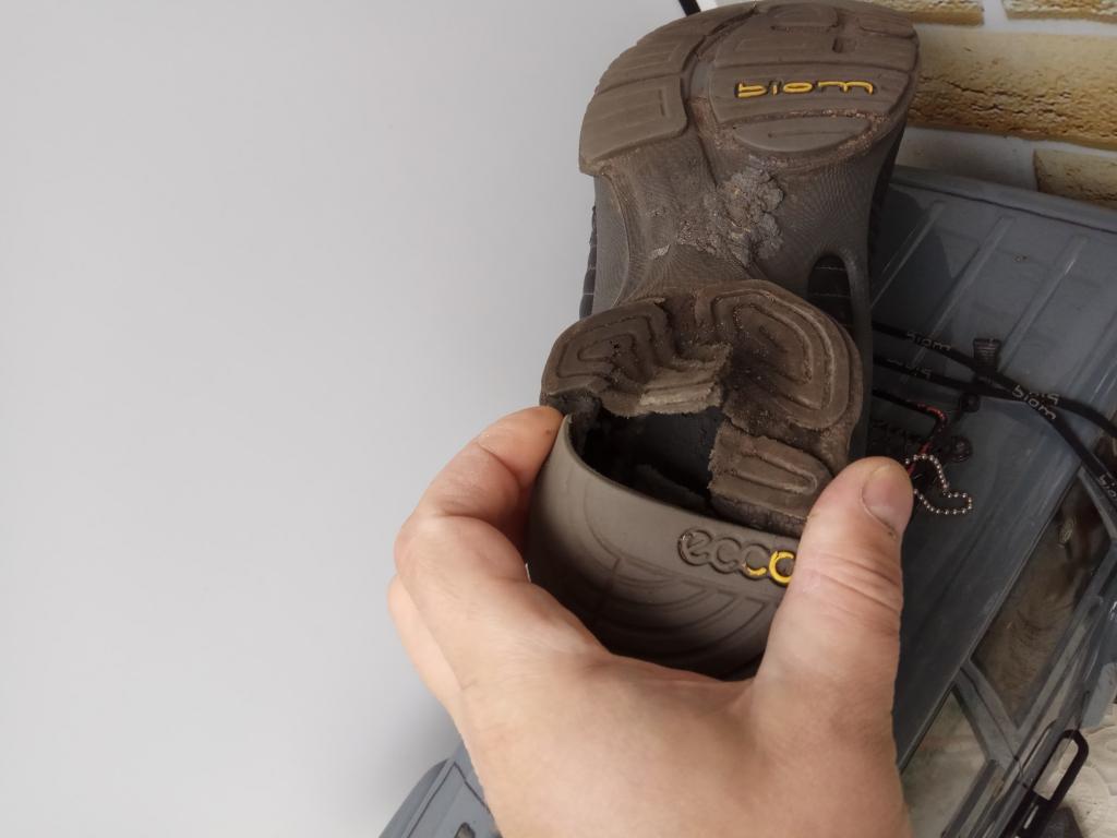 ECCO - Хваленые кроссовки