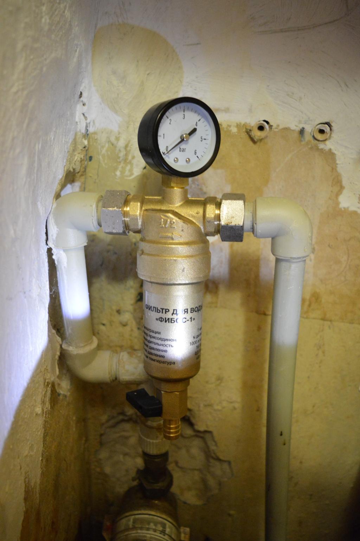 Фибос фильтр для воды - Фибос + углеволоконный фильтр
