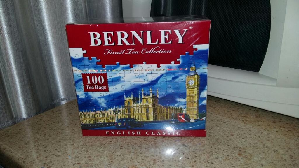 Чай Бернли Английский классический 250 гр. - Отличный чай