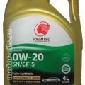 IDEMITSU 0W-20 моторное масло отзывы