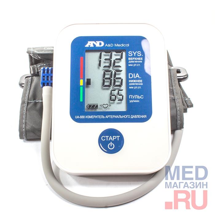 Контроль артериального давления, и пульса - Соотношение цены и качества тонометр модель A&D UA-888