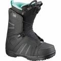 Ботинки для сноуборда SALOMON 2017-18 SCARLET BLACK отзывы