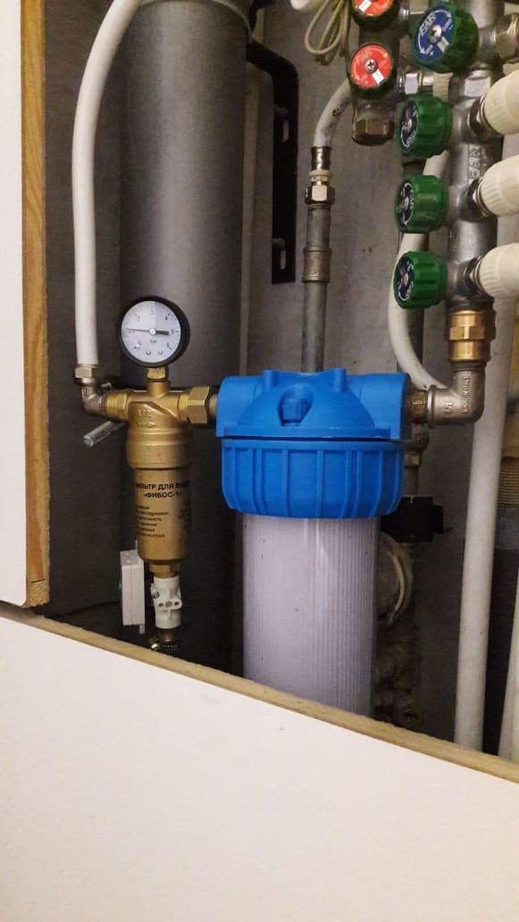 Фибос фильтр для воды - фильтр для воды Фибос