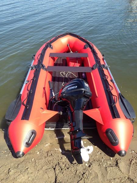 Надувная лодока Apache 3700 НДНД - Удобная лодка для рыбалки