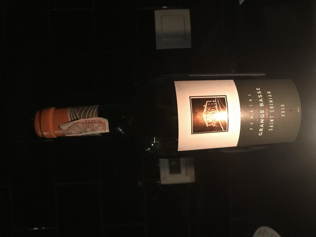Domaine La Grange Basse Saint-Chinian - Прекрасное красное сухое вино