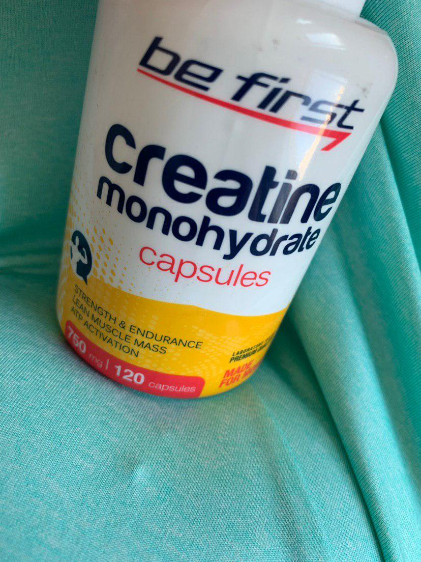 Be first Creatine Monohydrate Capsules - Работают, но не сразу.