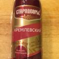 Сервелат кремлевский Стародворье отзывы