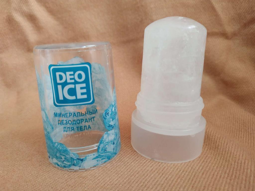 Дезодорант-кристалл DeoIce - Лучший натуральный дезодорант.