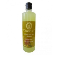 Натуральный индийский шампунь «Розмарин и Жожоба» Chandi Rosemary and Jojoba Shampoo