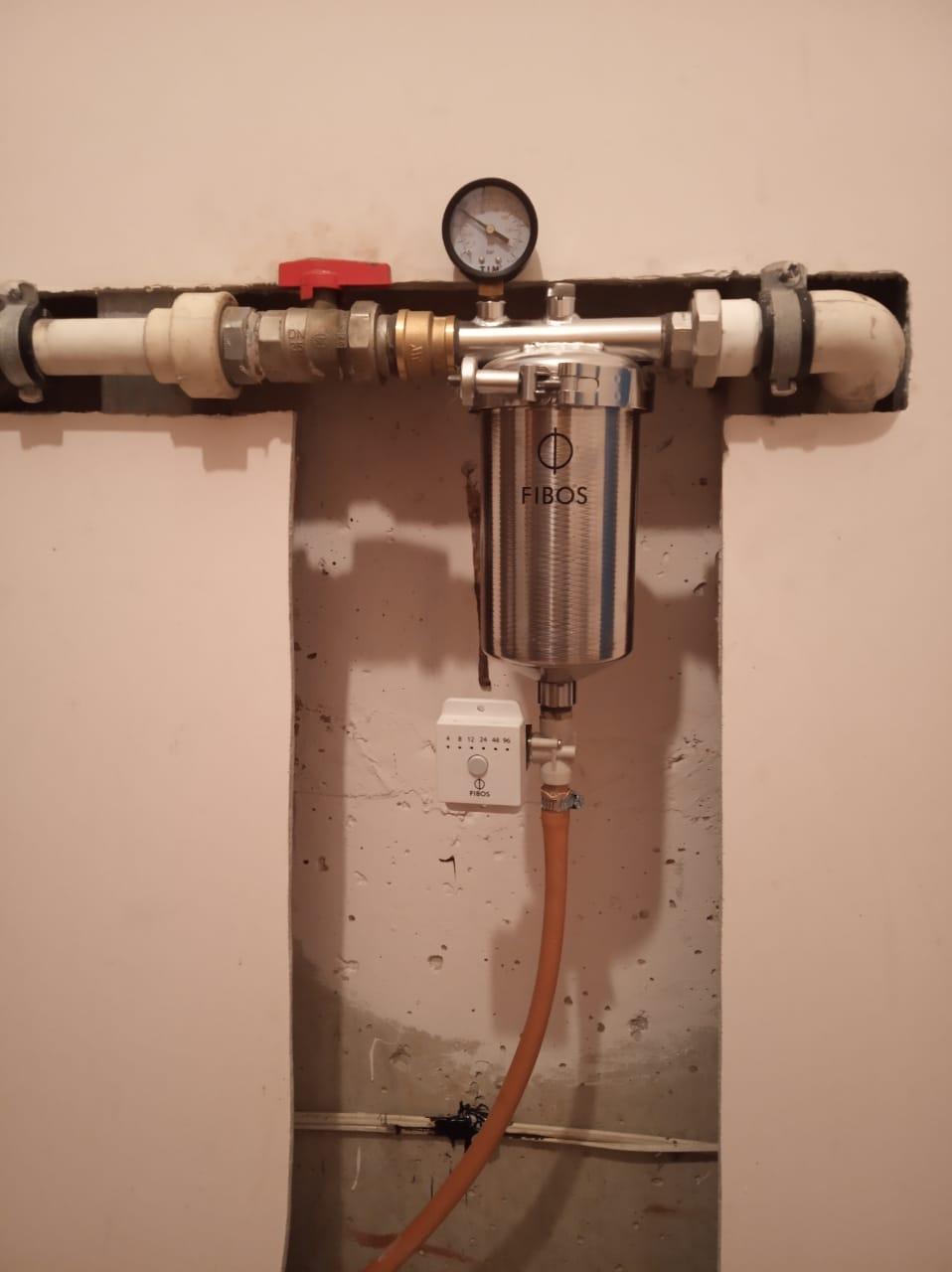 Фибос фильтр для воды - Очень рекомендуем, если у вас есть проблемы с водой из водопровода.