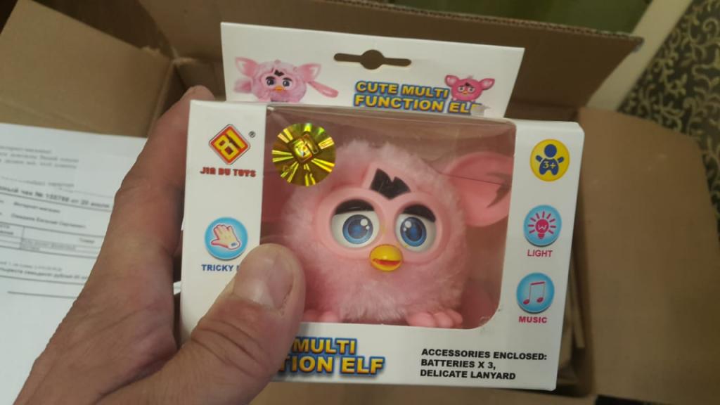 furby-toys.com интернет-магазин - Поленились и не поискали отзывы о сайте