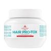 Маска для волос с кератином, коллагеном и гиалуроновой кислотой Kallos Cosmetics Pro-Tox Hair Mask отзывы