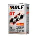 Моторное масло ROLF GT 5w40 отзывы