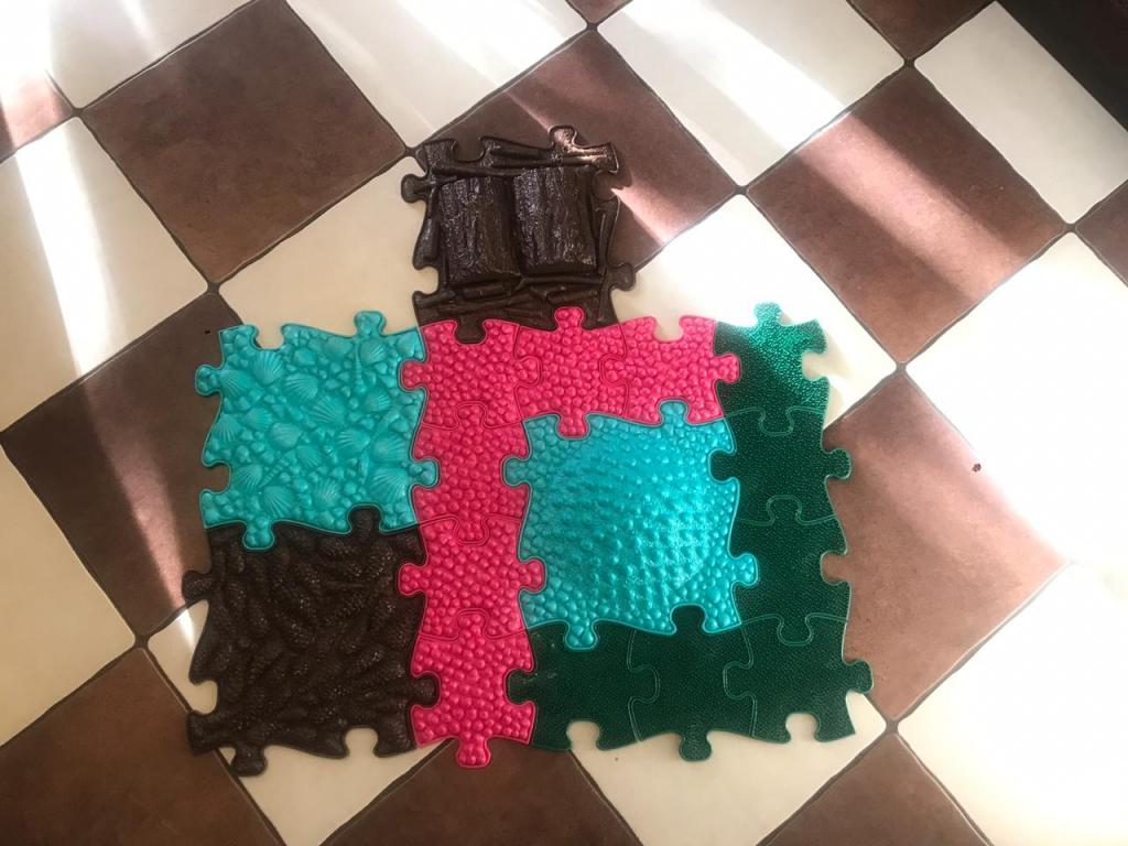ИграПол детские коврики-пазлы - Массажные коврики ИграПол - Купили ребенку 1.5 года, коврики понравились