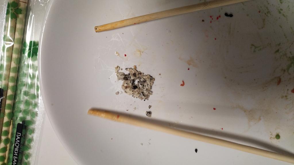 Суши wok - В суши обнаружена жвачка!!!