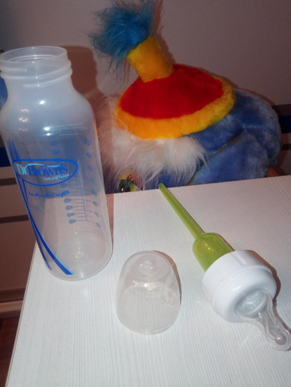 Антиколиковая бутылочка для кормления Dr. Brown's - Бутылочки для кормления Доктор Браун, мой отзыв