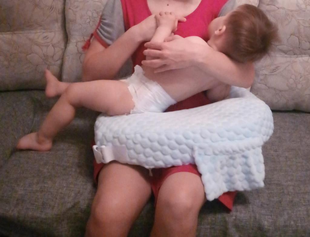 Подушка для кормления новорожденных Ergofeed - Подушка для кормления новорожденных Ergofeed служит мне до сих пор