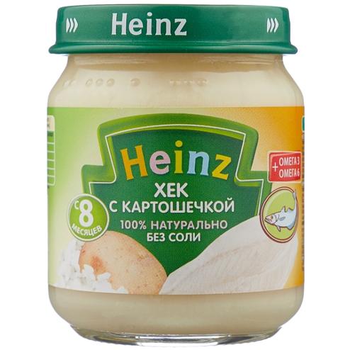 Heinz хек с картофелем - Наша первая рыбка