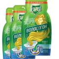 Ср-во для устранения засоров от волос Волосогон Expel отзывы