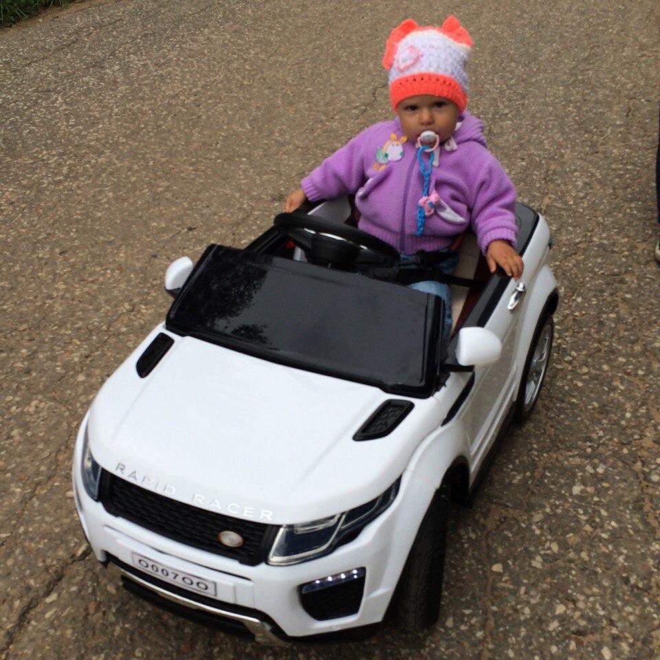 elektromobil5.ru - Беленький ровер для малышки)
