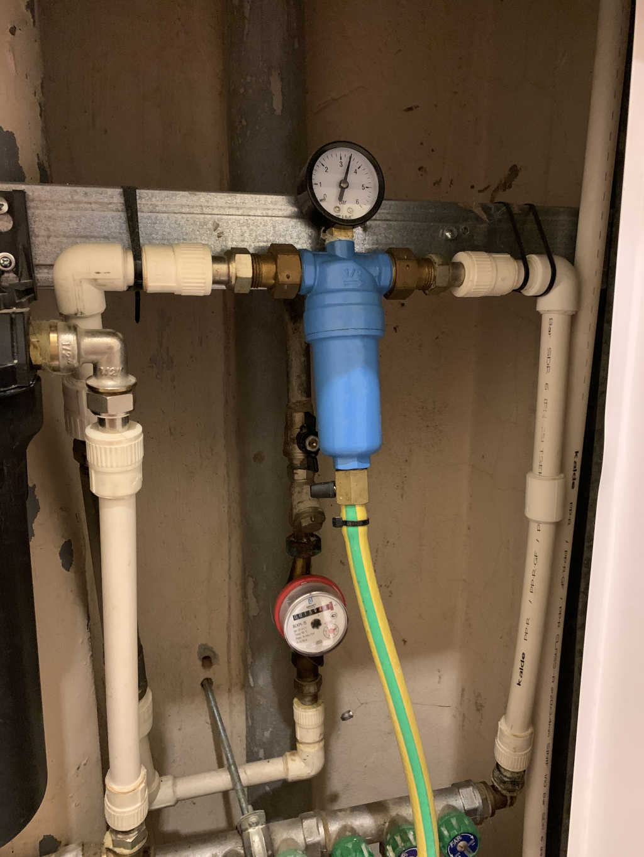 Фильтр для воды Аурус - вместился у меня в стояке