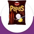 Картофельные чипсы Papas с луком отзывы