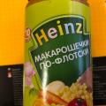 Heinz макарошечки по-флотски отзывы