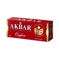 Чай Akbar Сeylon АВ, черный, 25 пак отзывы